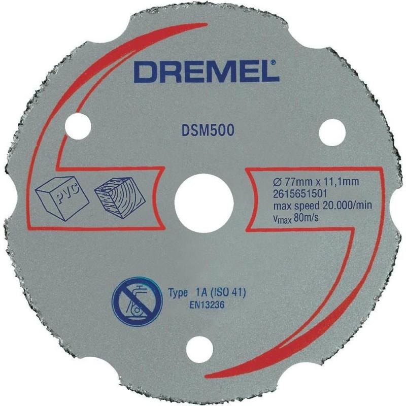 DREMEL 77 mm daugiafunkcis karbidinis pjovimo diskas
