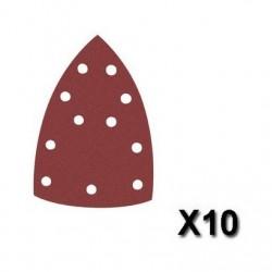 Šlifavimo popierius Velcro, 102x151 mm