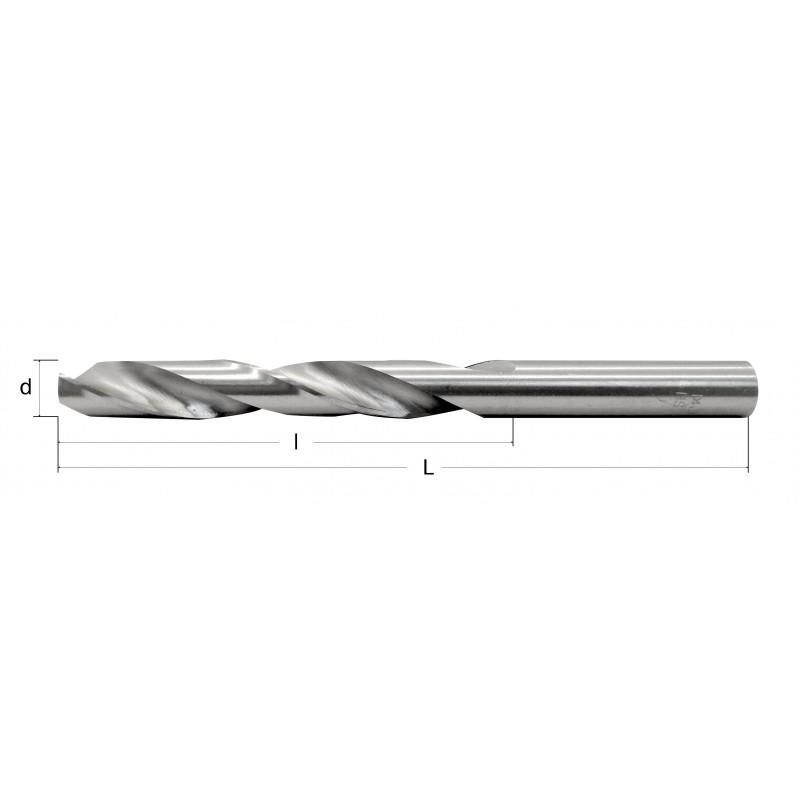Grąžtai metalui M Plus HSS (M2) DIN 338 A1