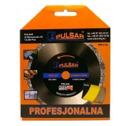 Deimantinis pjovimo diskas 115 šlapiam pjovimui PULSTAR