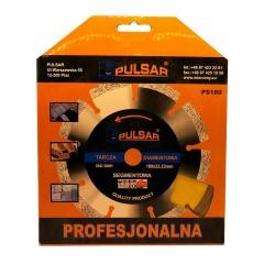 Deimantinis pjovimo diskas 180 sausam pjovimui PULSTAR