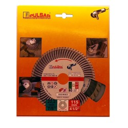 Deimantinis pjovimo diskas 115x22.23 SUPER TURBO SILVER