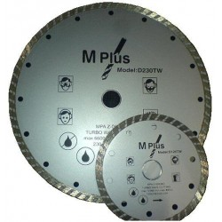 Deimantiniai pjovimo diskai M Plus Turbo